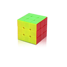 Newest Magic Cube 3x3x3 Strengthened Version Magic Cube Colorful Learning&Educational Cubo Magico Toys(China (Mainland))