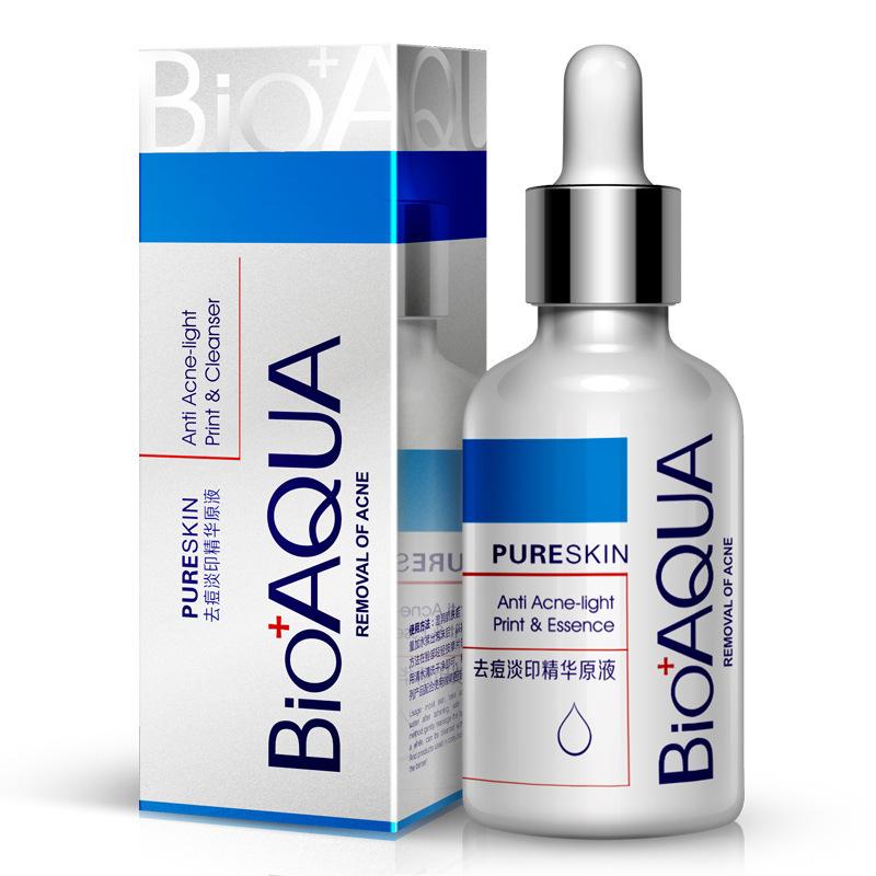 BIOAQUA Brand Essential Oil Anti acne essence oil anti acne marks Unisex facial essence skin care Oil 30ml/bottle(China (Mainland))