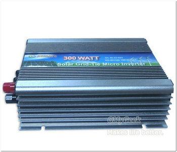 DHL EMS shipping 1pc GTI-WV-500W Wide Range Solar Grid Tie Inverter 22-60Vdc 220V or 110Vac  (grid connected Pure sine wave)