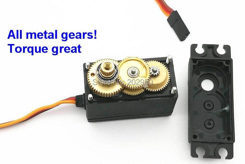 1piece servo 360 degree continuous rotation servo mg995 Servo motor 360 degrees arduino