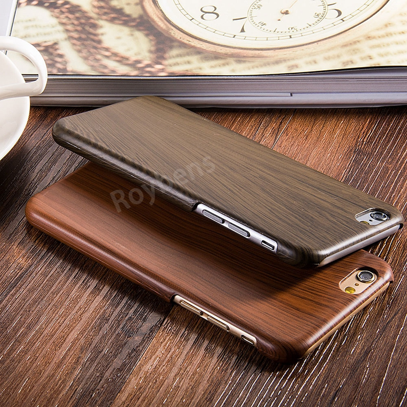 Retro Original Wood Bamboo Case For iPhone 6 6S 4.7 Luxury Slim Hard PC Cover For iPhone 6 Case Leather Skin Wooden Grain Capa(China (Mainland))