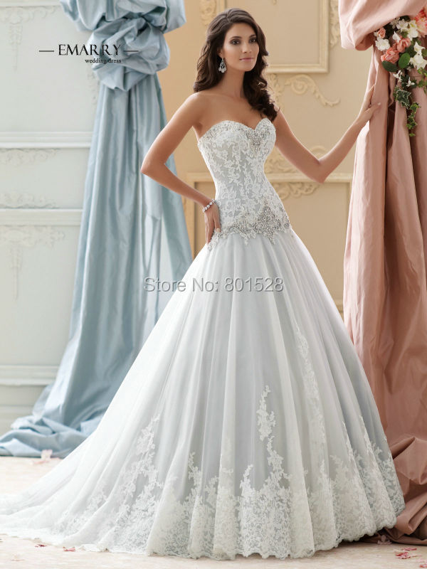 Rw031 sexy sparkle sweetheart lace wedding dress romantic for Lace sparkle wedding dress