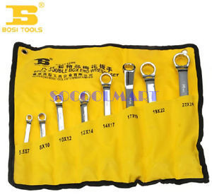 PRETTY 8 in 1 12 Point Dual Box End Wrench Spanner Tool 5.5mm-24mm