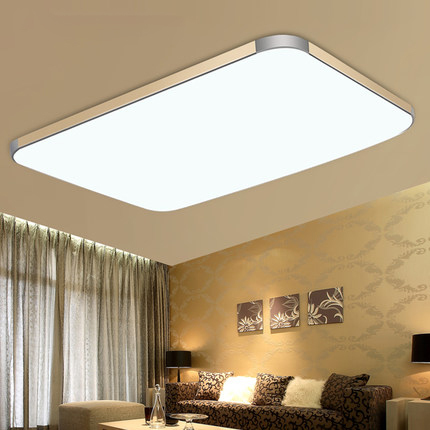 Surface mounted modern led ceiling lights for living room for Moderne led deckenlampen