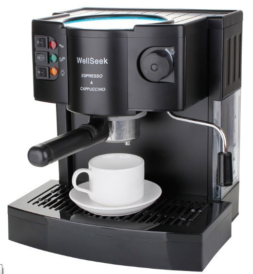 Coffee Maker And Its Function : 5 cups, multi function automatic espresso machine brand, Professional production capuccino and ...