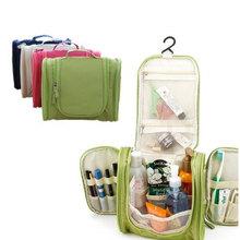 Portable Makeup Make up Toiletry Washing Cosmetic Bag Oxford Compartment Organizer Storage Hanging Travel Kit Hand bag Bulk(China (Mainland))