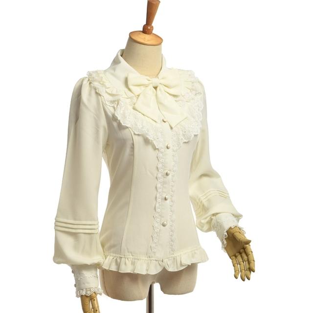Vintage Women Victorian Blouse