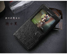 New View Window For Infocus M560  Case PU Leather Flip Cases Cover phone 5 Colour  Luxury accessories