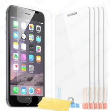 Anti-shock anti-explosion Screen Protector Guard For iphone 6 6s plus samsung s6 edge note 5 4 3 with retail package 100pcs/lot