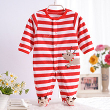 Baby Clothes Carter's Brand Fleece Romper Newborn Clothing Boy Girl Long Sleeve Jumpsuit