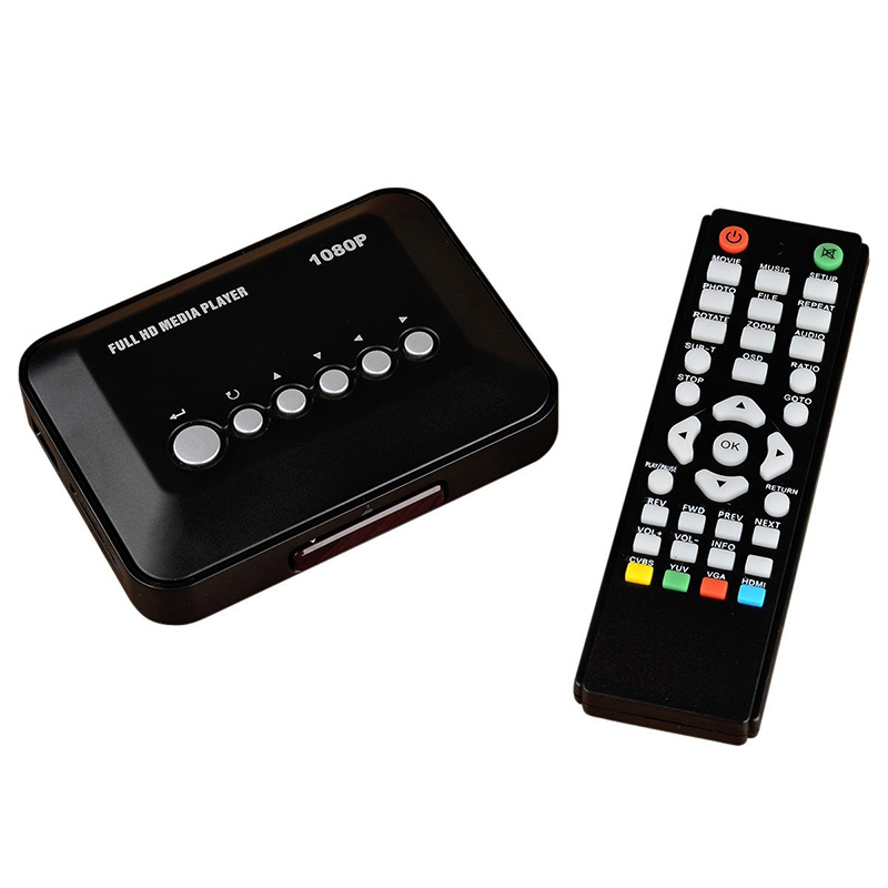 New Portable High Quality Mini Flash Player 1080P Full HD Media Player Multi Video Advertising Player Free Shipping(China (Mainland))