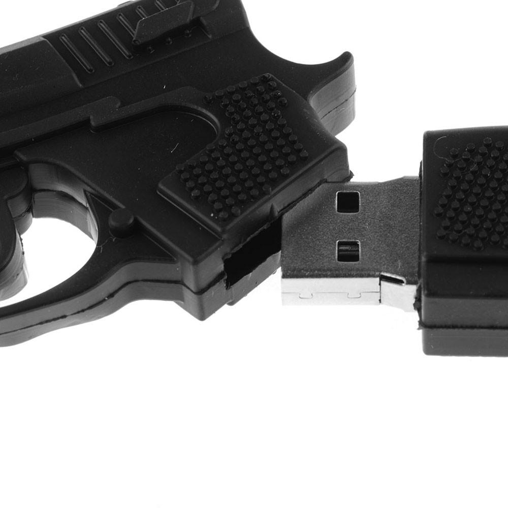 8GB Cartoon Gun USB Flash Drive Disk USB 2.0 Pen Drive Memory Stick Storage Device U Disk VCH79