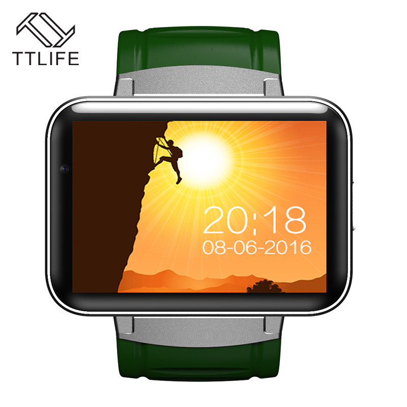 TTLIFE DM98 2.2 Inch HD Screen Smartwatches Bluetooth 4.0 Smart Watch WiFi GPS GSM SIM Video Call Camera For iPhone 7 Android(China (Mainland))