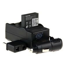 Новое поступление! 1 шт. 3.8 В 1650 мАч аккумулятор Go Pro AHDBT-401 AHDBT 401 + + автомобильное зарядное устройство + свеча GoPro герой 4