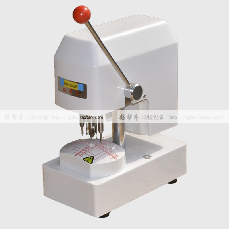 Glasses equipment instrument Glasses sample punching machine Spectacle lenses template punching machine<br><br>Aliexpress
