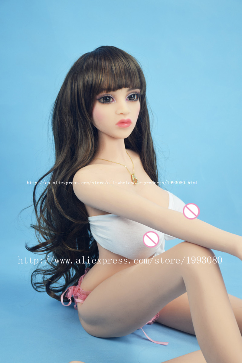 132cm real silicone sex dolls robot japanese mini anime love doll toys for men big breast realistic sexy vagina adult full life(China (Mainland))