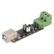 USB 2.0 a RS485 TTL Módulo Adaptador Convertidor Serial FTDI FT232RL SN75176 doble función de doble para la protección Superior de La Venta