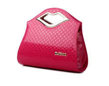 Bags fashion handbag 2014 women's shaping women's fashion handbag one shoulder cross-body bag red bride