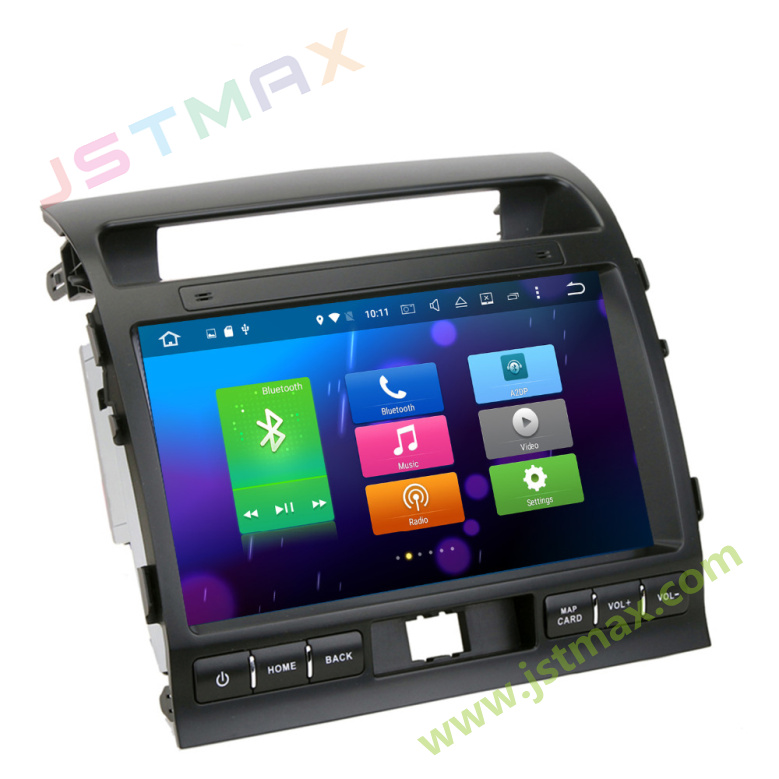 10 Android 6.0 Octa Core 2G RAM Car Raido GPS Player For Toyota Land  Cruiser LC200 2008-2013 NO DVD Head unit FM BT Player - us206