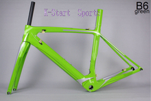 2016 road bike carbon frame ud bb30 bsa t1000 bicycle matte glossy 950g fork clamp seatpost headset frame 130*9 700c t800