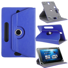 """Free Shipping 5000pcs/lot Universal 10inch 360 Degree Rotating PU Case with Four Pothook for 10.1"""" Tablet Case(China (Mainland))"""
