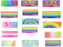 Buy HRH Rainbow Design Silicone Keyboard Cover Keypad Skin Protector Apple Macbook Pro 13 15 17 Air 13 Retina 13 US layout for $2.99 in AliExpress store
