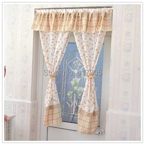 2014 New Elegant Vintage Floral Chinese Curtains Modern Kitchen Door  Curtains