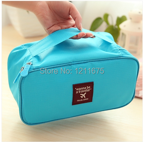 Free Shipping! Fashion Travelling Storage Bag for Bra & Underwear (China (Mainland))