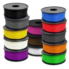 WholeSale Price !!!   transparent yellow color  3d printer filaments ABS/PLA 1.75mm/3mm Plastic Rubber Consumables Material