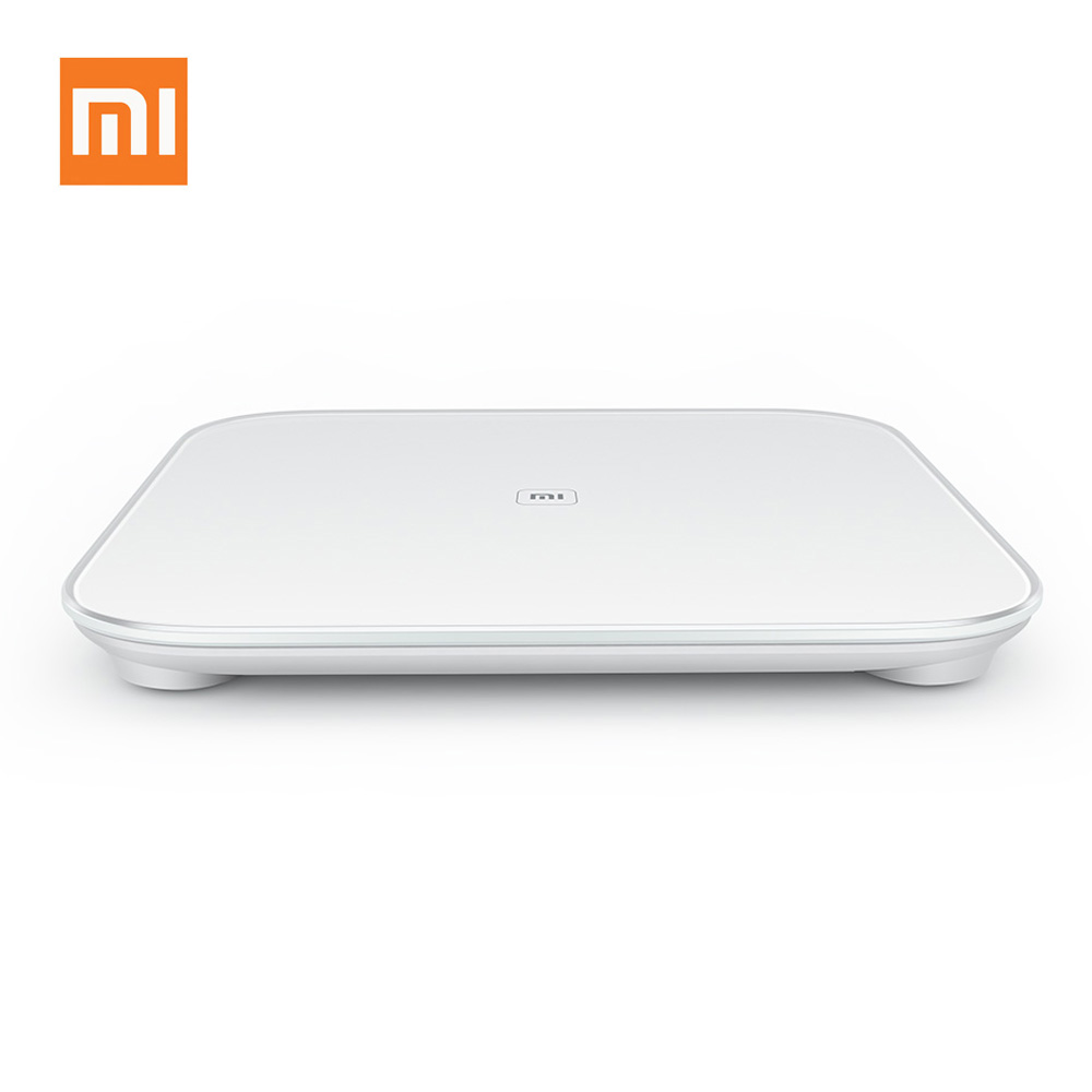 100% Original Xiaomi Scale Mi Smart Body Weight Digital Scale Support Android IOS Bluetooth 4.0 Above Smartphone White Free Ship(China (Mainland))