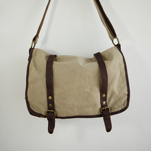 Mens Canvas Cross Shoulder bag
