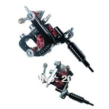New Style Mini Black Stainless Steel Tattoo Machine Jewelry Hot Sale Victory Free Shipping(China (Mainland))