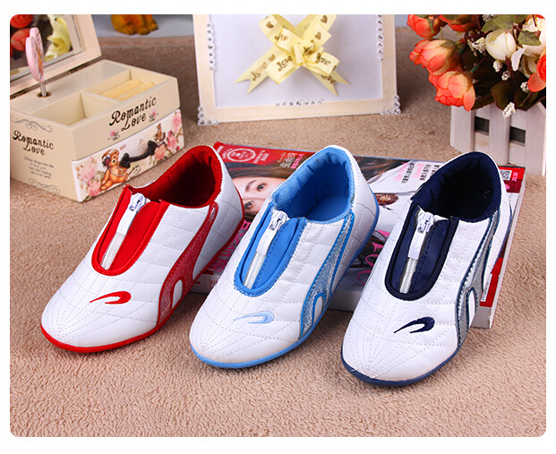 Fashion Boy Running Shoes 2015 Spring Heelys Sneakers PULeather Front Zipper Children Sports Trainer Kids - welcome the Store store