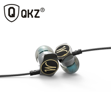 Earphone Zinc Alloy Original QKZ DM7 Stereo Earphone Metal Handsfree Headset 3.5mm Earbuds for all Mobile Phone fone de ouvido(China (Mainland))