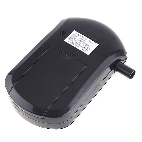 Mini Digital LCD Breathalyzer Alcohol Breath Tester