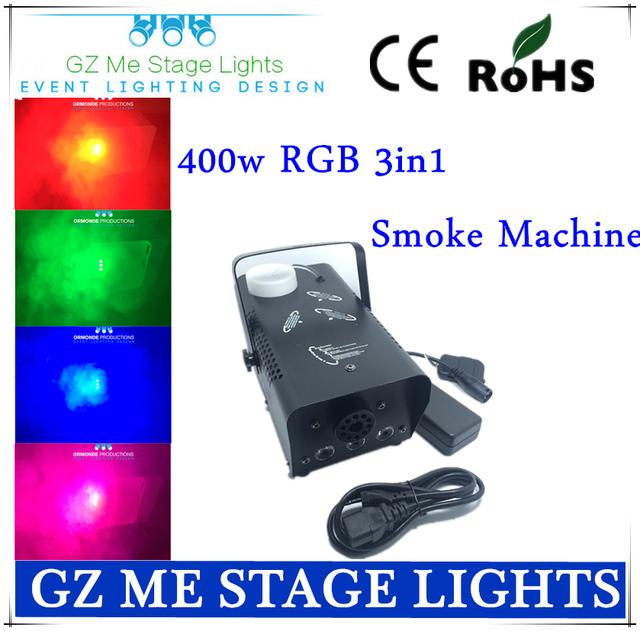 rgb fog machine