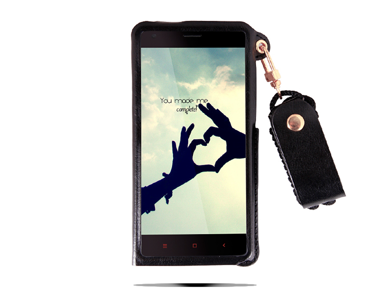 The phone case Hot sell for Xiaomi Redmi 2 PU Leather Belt hang Rope Cell Phone Holster Protection Cover for Redmi 2(China (Mainland))