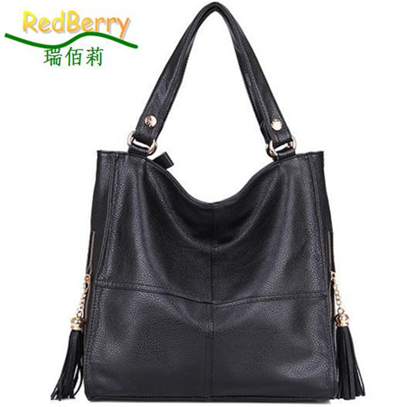 New 2015 Tote Fashion Women Handbag Hot Sale Women Messenger Bags Vintage Shoulder Bags Crossbody Bags Cowhide Women Leather Bag