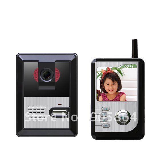 New products - wireless video intercom doorbell Безопасность и защита