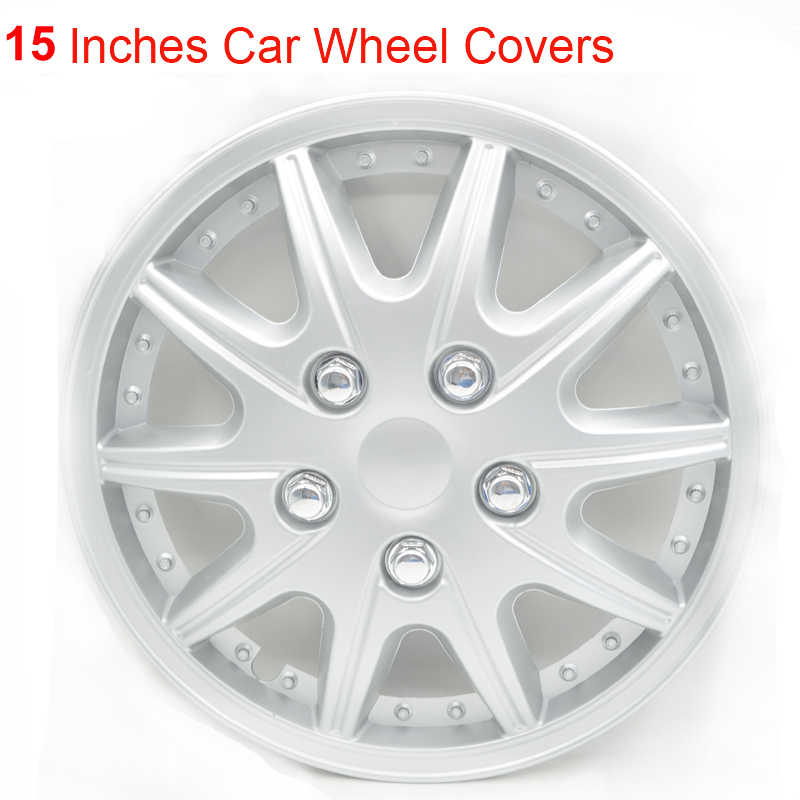 New Styling 15 Inches 4pcs/set Car Wheel Trims Hub Covers Caps Tuning Hot Sticker Modify Accessories Auto Decals<br><br>Aliexpress