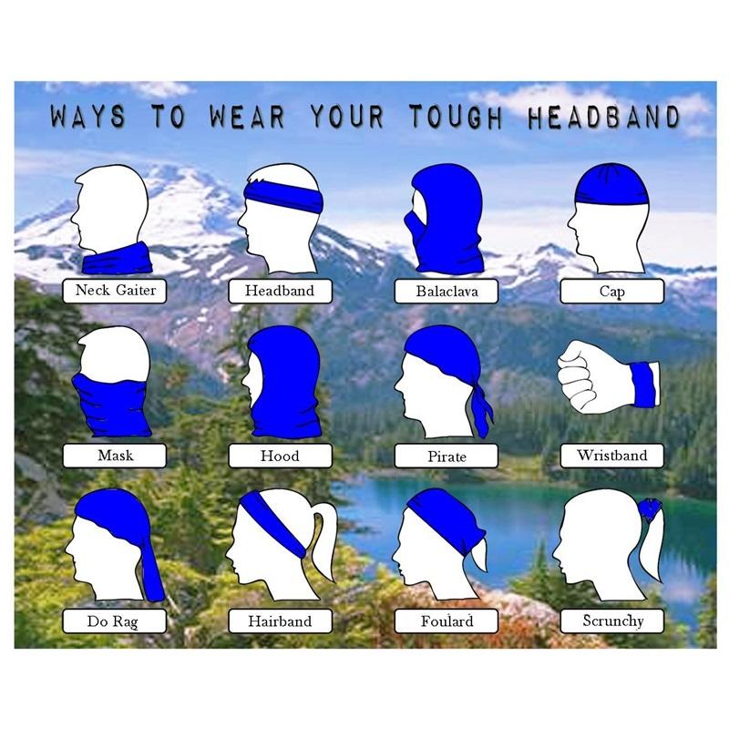 Multi Use Scarf Ski Snowboard Motorcycle Cycling Headwear Beanie Warmer Neck Face Mask Cover Skiing Balaclava