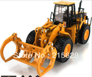 Freeshipping high quality diecast mini Alloy Large-scale wood logging truck engineering construction vehicle model kids toy gift(China (Mainland))