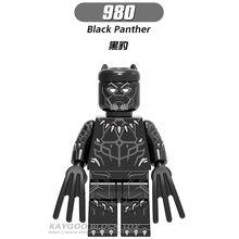 lEGOED Marvel Avengers Infinity War Thanos Iron ManThor Black Panther Falcon Gamora Hulk Building Blocks toySuper Heroes(China)