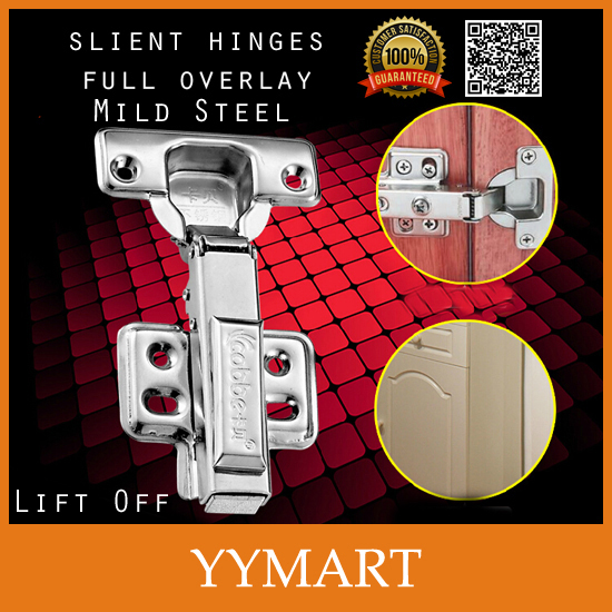 1Pc Soft Silent Closer Hardware Mild Steel Lift Off Full Overlay Hydraulic Brass Buffer Cabinet Cupboard Door Hinges(China (Mainland))