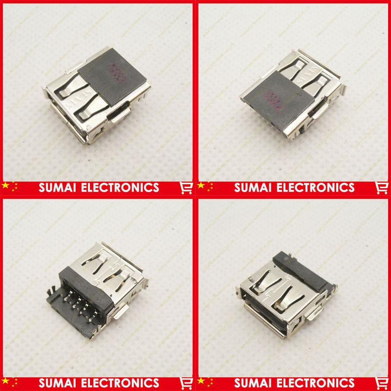 120pcs/lot Laptop 2.0 USB female jack connector for HP Mini 1000 1001TU 1017TU 1100 ACER SONY LENOVO etc(China (Mainland))