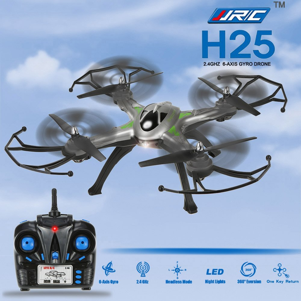 Фотография JJRC H25 RC Quadcopter 2.4GHz 4CH 6-axis Gyro System One-key Auto Return Headless Mode 3D Rolling 360 Eversion Function Drone