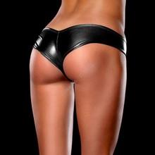 Hot Sale Women's Sexy Lingerie Shine Metallic Hot Thongs G Ring One Size Free Shipping