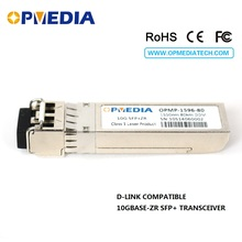 Low price!For D-Link 10GBASE ZR SFP+ transceiver,10G 1550nm 80km optical module dual LC connector DDM function - Opmedia Transceivers store