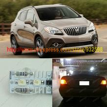 Free Shipping 2Pcs/Lot Superbright Osram 4SMD 12w 12v Car Led Tail Light For Buick Enclave 08-14 Encore 2014 Verano 2012 2014(China (Mainland))