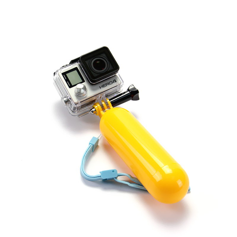 Accessories for Gopro SJ4000 Bobber Floating Floaty Handheld Stick Monopod Compatible For Go Pro Hero 4 3+ SJ6000 XiaoMi Yi GP81